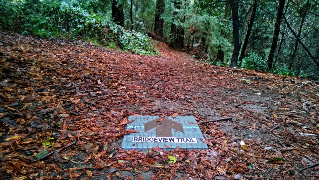 dimond canyon mosaic trail marker