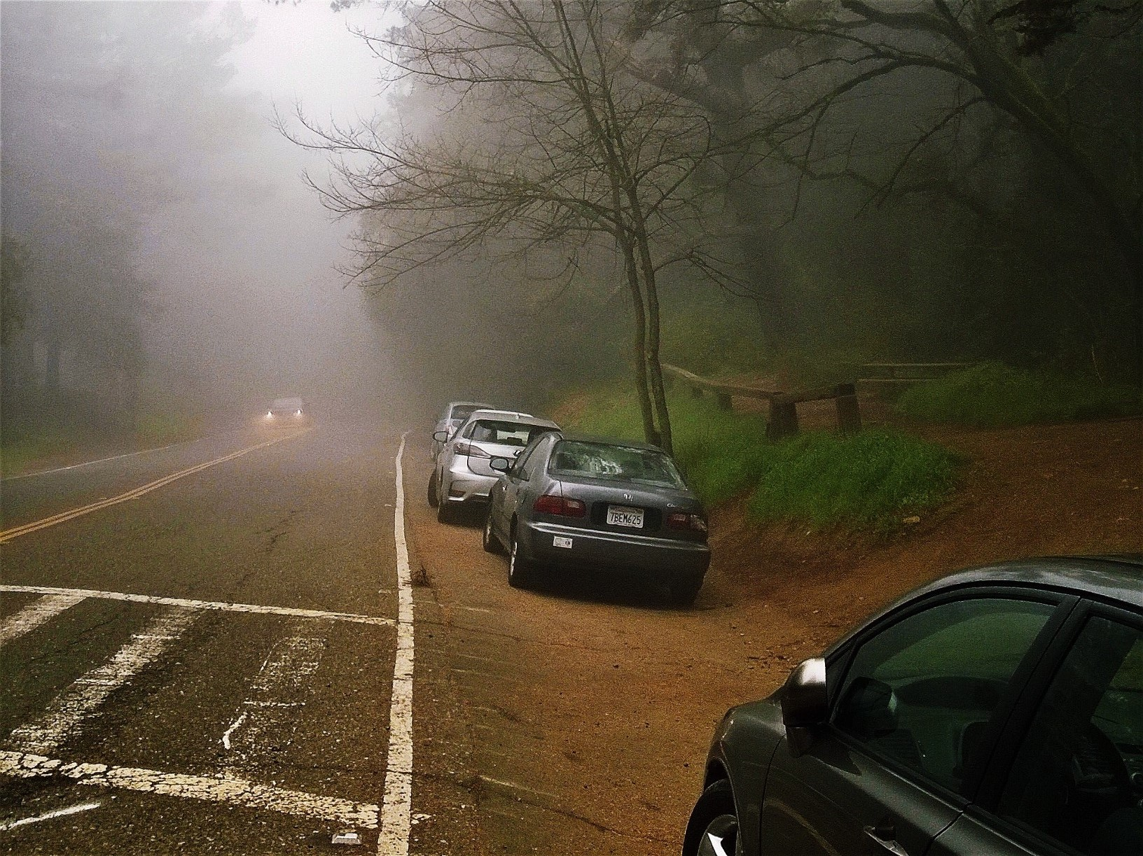Three trailheads at 10601 Skyline Blvd, Oakland - Joaquin Miller Park
